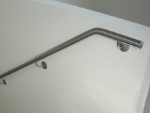 Handrails custom made stainless steel Metalcraft Engineering Christchurch