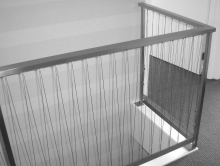 Stainless steel wire balustrade and railing made in Christchurch