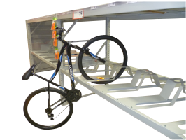 Metalcraft Engineering pallet bike racking system cycle display for warehouse pallet racks
