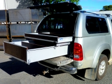 Metalcraft Engineering install vehicle storage and fit out work vehicles tradie fitouts