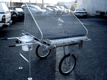 Metalcraft Engineering Custom trolley for white bait nets Christchurch
