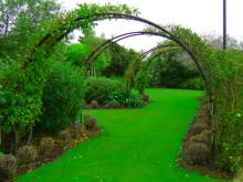 Metalcraft Engineering arbour tunnel garden wrought iron arch Christchurch