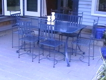 Metalcraft Engineering Classic outdoor furniture setting