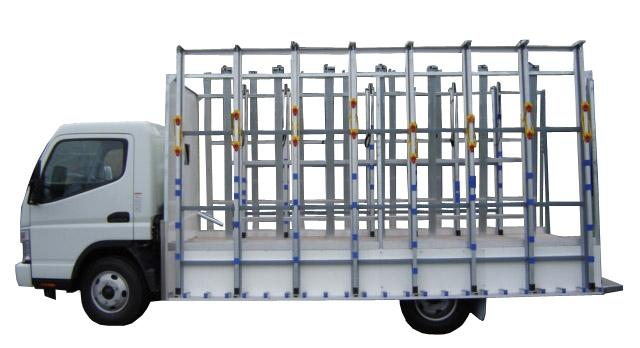 Open Delivery Glass truck