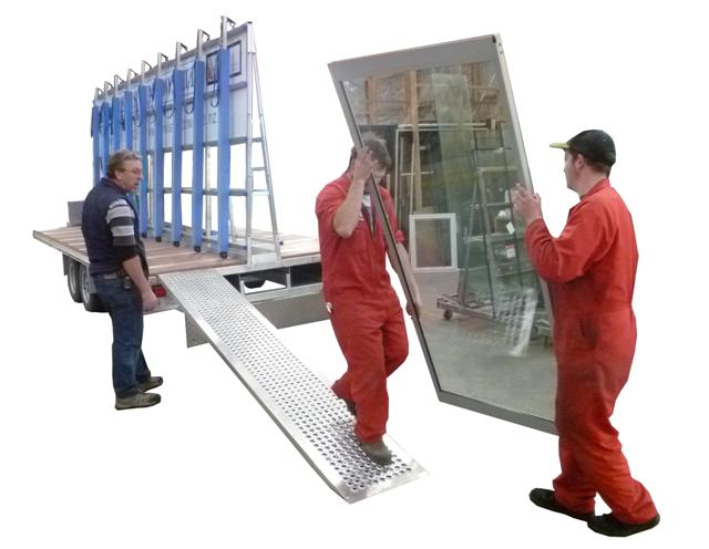 Window Transport Trailer